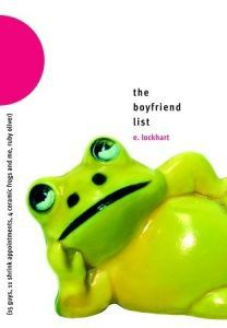 The Boyfriend List by E. Lockhart ya books about anxiety