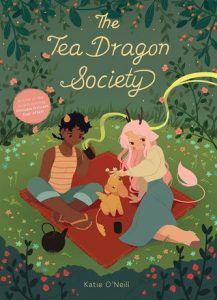 The Tea Dragon Society from 12 Kid-Friendly LGBTQ Comics | bookriot.com