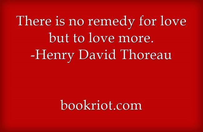 Thoreau wedding quote bookriot