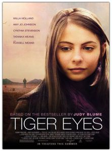 tiger eyes movie poster
