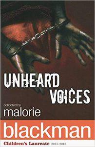 Unheard Voices by Malorie Blackman Book Cover
