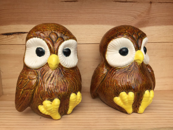 Delightful Owl Bookends