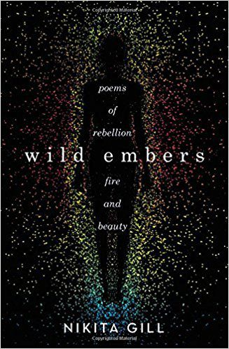 Wild Embers book cover poetry books for teens