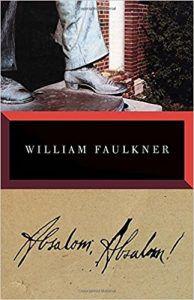william faulkner absalom absalom book cover southern historical novels