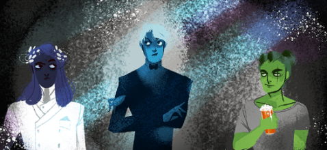 Zeus, Hades and Poseidon in Lore Olympus, created by Rachel Smythe. | 5 Reasons to Love and Support LORE OLYMPUS