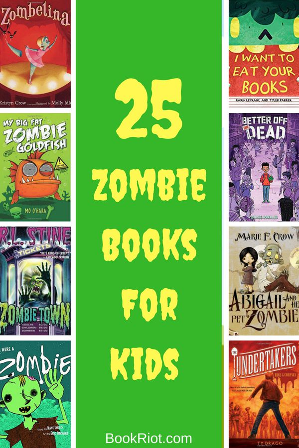 25 Zombie Books for Kids from BookRiot.com