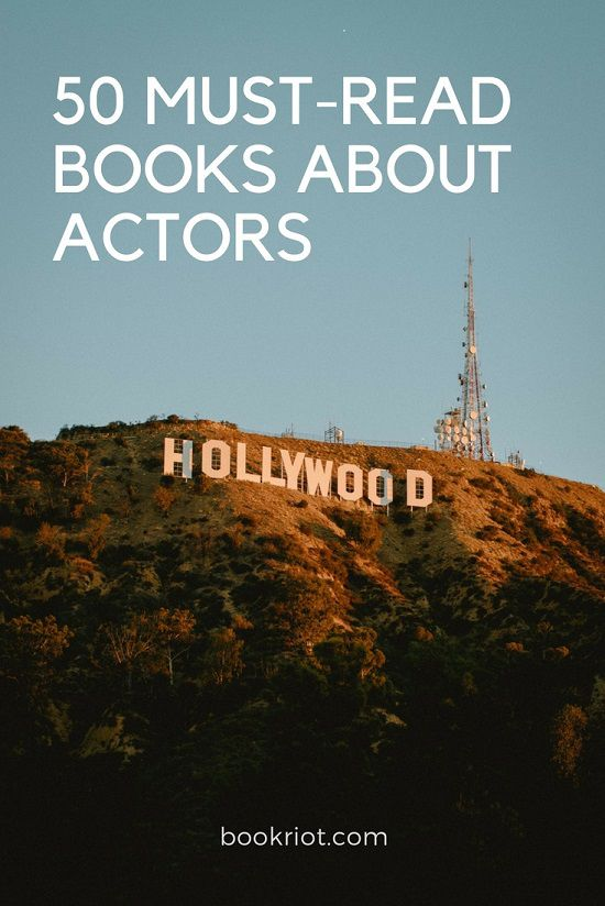 books about actors