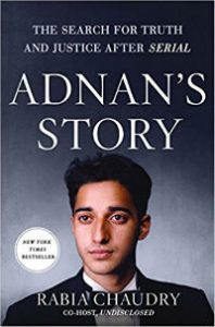Adnan's Story Rabia Chaudry Cover