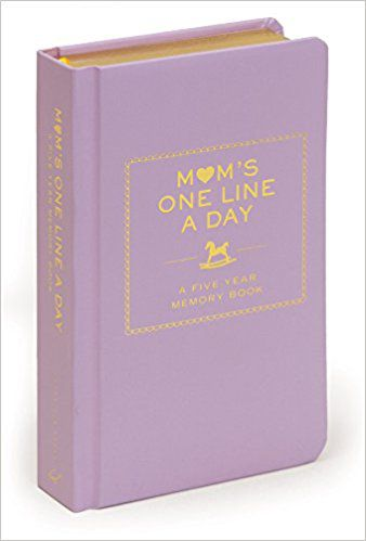 Mom's One Line a Day: A Five Year Memory Book