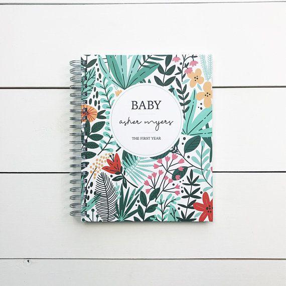 PrintSmitten Baby Memory Book