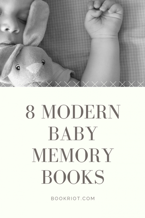 8 modern and sometimes hilarious baby memory books