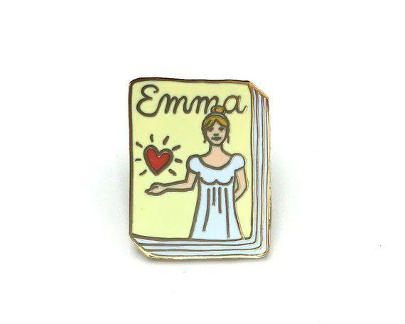 Book Pin Emma - janemount