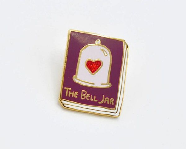 Book Pin The Bell Jar by janemount