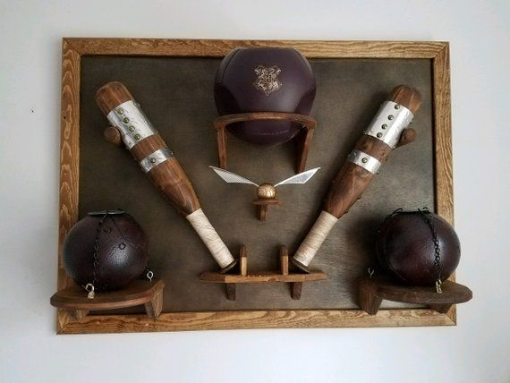 Full Replica Harry Potter Quidditch Set Etsy