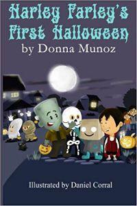 Harley Farleys First Halloween Donna Munoz Cover