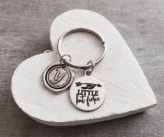 Little But Fierce Keychain - SAjolie