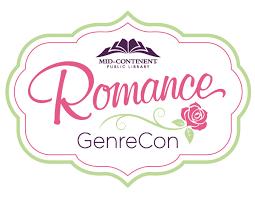 Logo for Mid-Continent Public Library's Romance GenreCon
