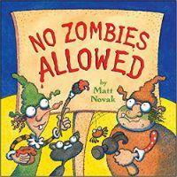 No Zombies Allowed Matt Novak Cover