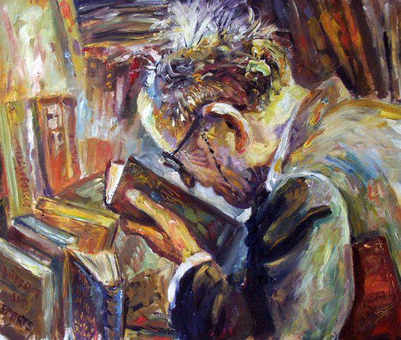 Bookish paintings