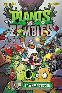 Plants vs. Zombies: Lawnmageddon Paul Tobin Cover