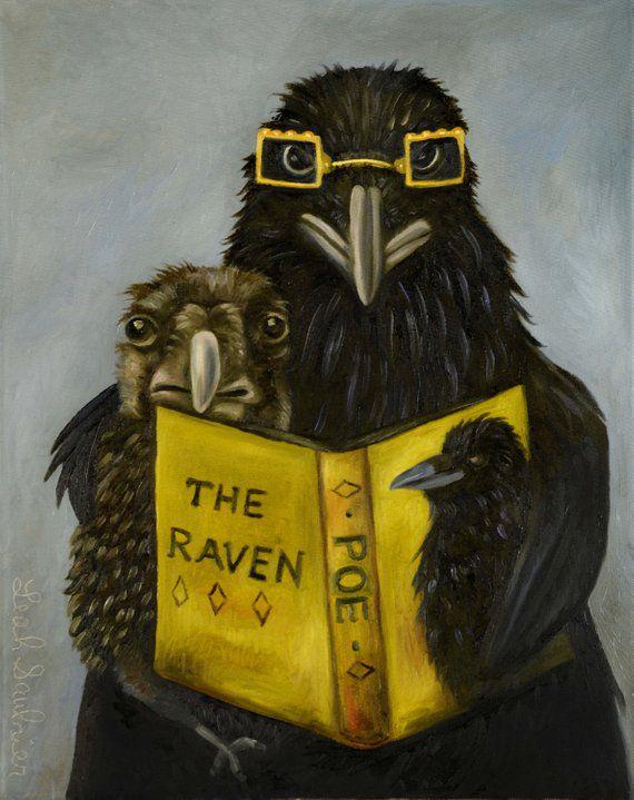 Edgar Allen Poe Painting