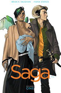 Saga comic book cover