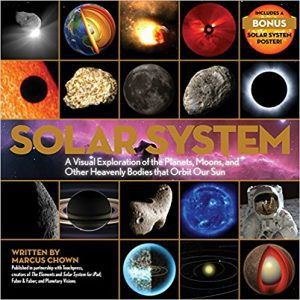 Cover for the book Solar System a Visual Exploration