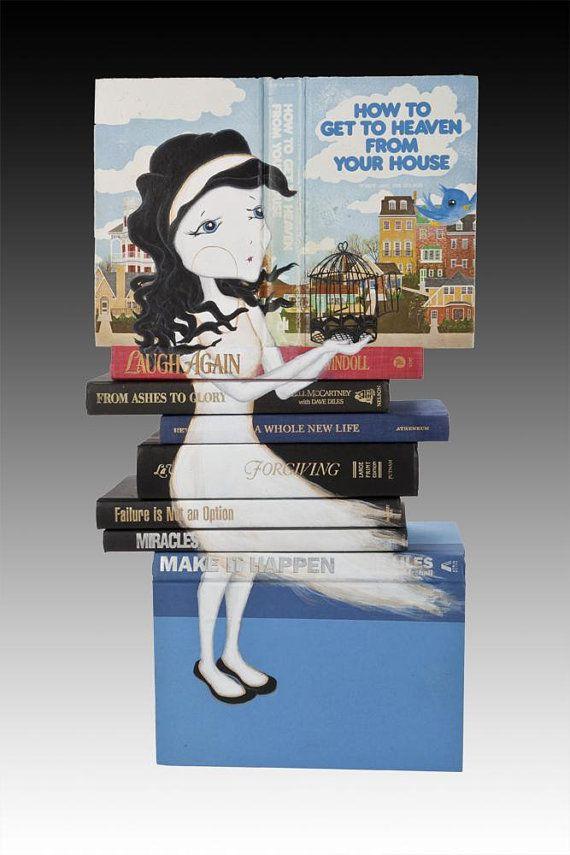Mixed Media Book Art