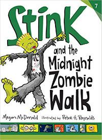 Stink and the Midnight Zombie Walk Megan McDonald Cover