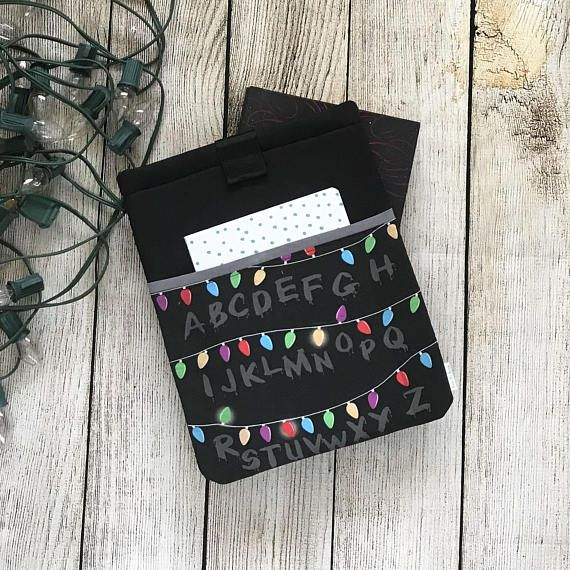 Stranger Things Christmas Lights Book Sleeve BabyMyBook Etsy