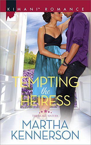 Cover of TEMPTING THE HEIRESS by Martha Kennerson