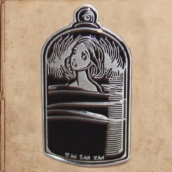The Bell Jar Enamel Pin 1.5 by milestogoclothing