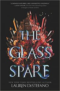 the glass spare book cover