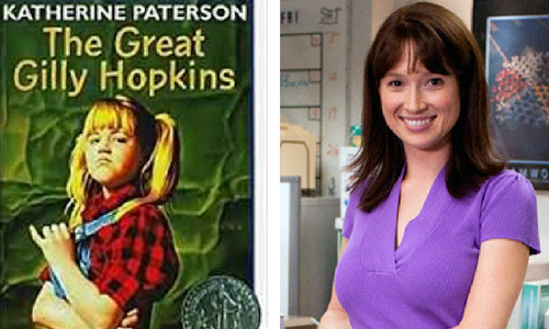 The Great Gilly Hopkins and Erin from The Office