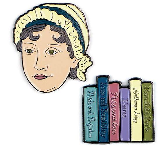 Unemployed Philosophers Guild Jane Austen Pin