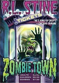 Zombie Town by R L Stine Cover