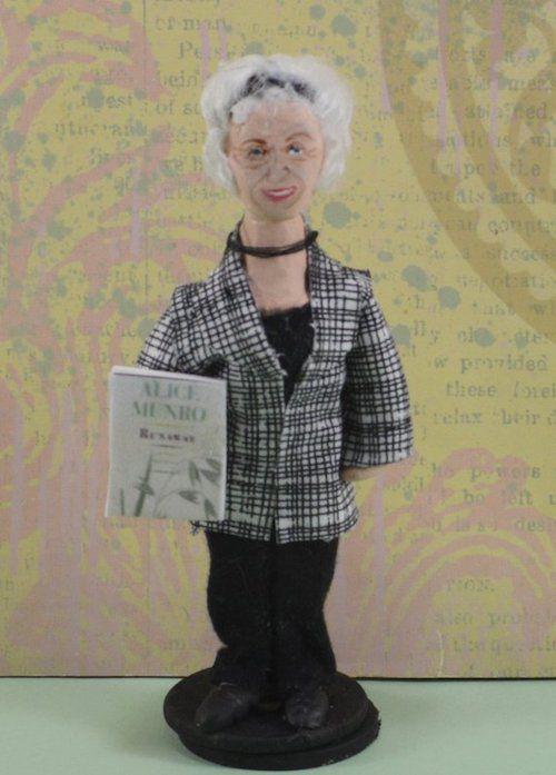 Alice Munro doll