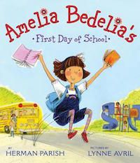 Amelia Bedelias First Day of School Book Cover