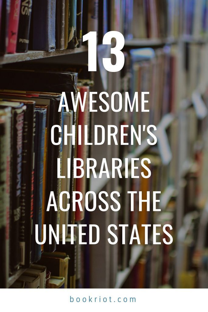 13 awesome children's libraries from around the United States. libraries | children's libraries | Library spaces | children's library spaces