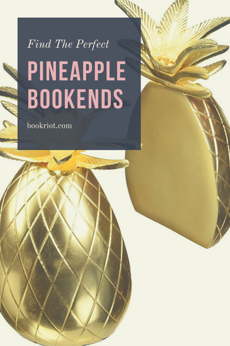 30 Awesome Pineapple Bookends