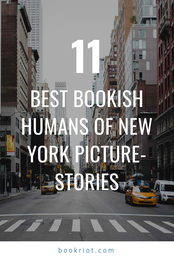 Best Bookish Humans of New York Stories