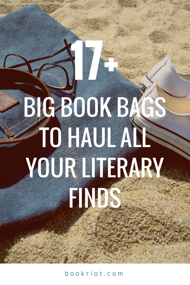 big book bags for hauling your TBR