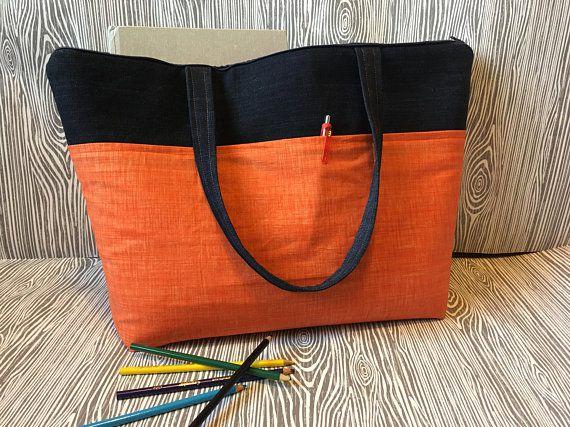 big book bags with zipper
