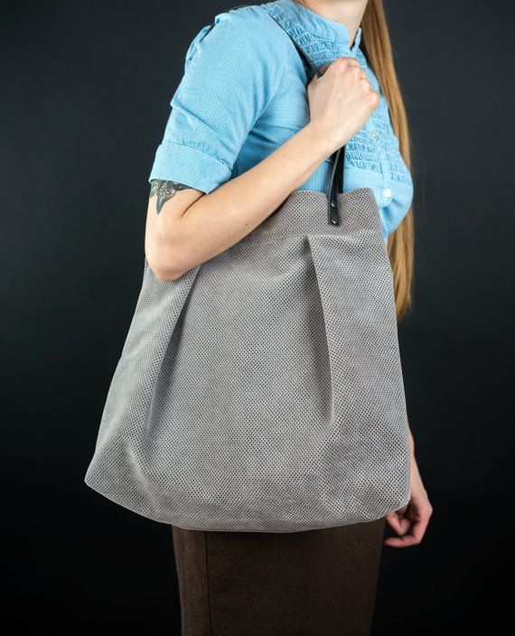 Giant gray big book bag