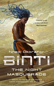 binti night masquerade book cover