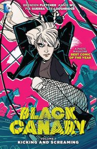 Black Canary book cover