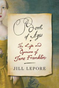 Book of Ages by Jill Lepore book cover