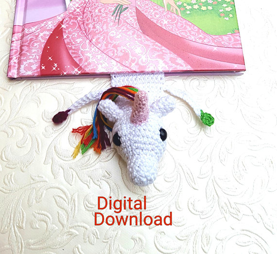 Unicorn Bookmarks To Make Download And Buy For Magical Reading