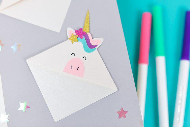 corner unicorn bookmark