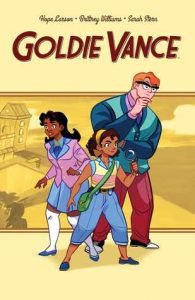 Goldie Vance by Hope Larson book cover